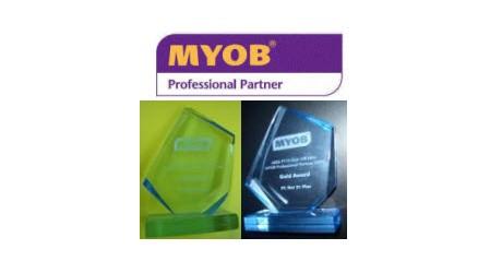 MYOB Professional Partner Gold Award 2009 untuk PT. NET21PLUS