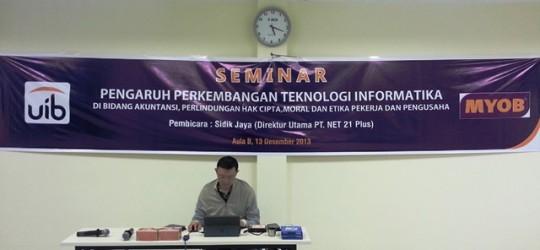 Seminar Akuntansi di Universitas International Batam