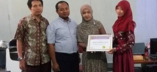 Training of Trainers MYOB di Universitas Muhammadiyah Gresik