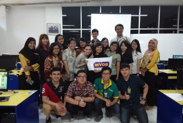 Training of Trainers MYOB di Universitas Atma Jaya Yogyakarta