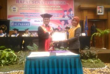 Penandatanganan MoU dan Training of Trainers MYOB di AMIK JTC Semarang