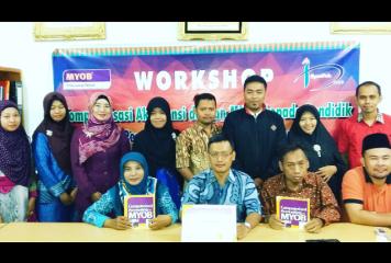 Training of Trainers MYOB di STIE Syariah Bengkalis