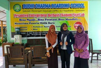 """Workshop """"Tantangan Siswa SMK Akuntansi Terhadap Perkembangan Sistem Informasi Akuntansi"""" di SMK Budhi Dharma Piyungan"""
