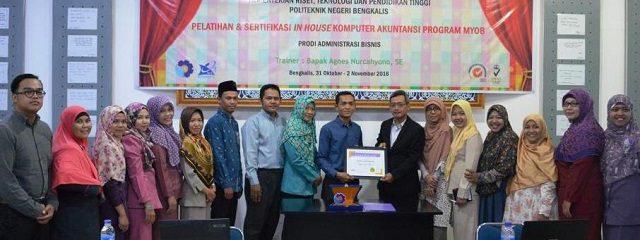Training of Trainers MYOB di Politeknik Negeri Bengkalis