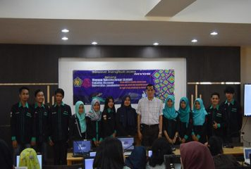 Workshop MYOB Qualification Test – Try Out oleh Himpunan Mahasiswa Akuntansi Fakultas Ekonomi Universitas Janabadra