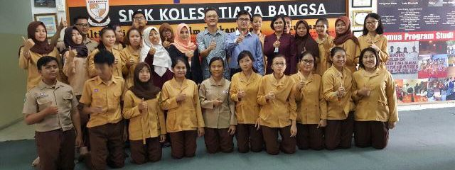 Workshop dan Sertifikasi MYOB Basic Level di SMK Kolese Tiara Bangsa Batam