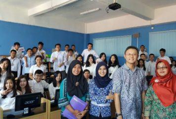 Workshop dan Sertifikasi MYOB Basic Level di SMA Harapan Utama Batam