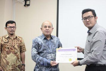 Penandatanganan MoU di Universitas Sahid Jakarta