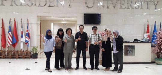Training of Trainer di President University
