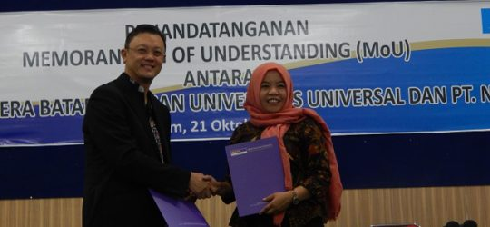 Penandatanganan MoU di Universitas Putera Batam