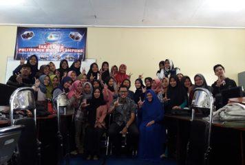 Workshop dan Sertifikasi ABSS Accounting Software – Single Currency di Politeknik Negeri Lampung